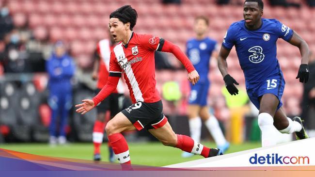 Southampton Vs Chelsea: The Blues Tertinggal 0-1 di Babak Pertama