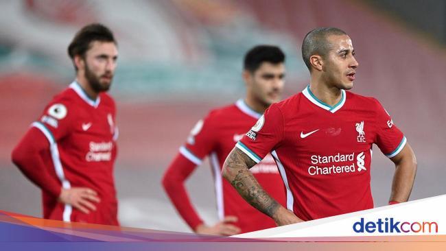 Sepakbola Liverpool di Liga Inggris: Kalah Mulu, Empat Kali Beruntun