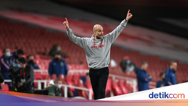 5 Man City Cetak Rekor Tandang, Guardiola Kalem