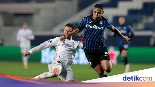 Atalanta Vs Madrid: La Dea Pede Balikkan Keadaan d