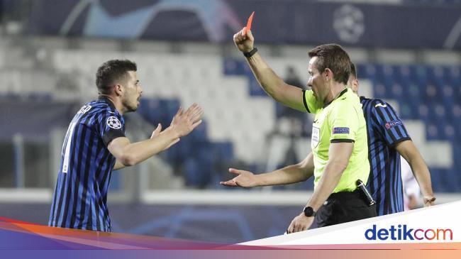 Kartu Merah Freuler Saat Atalanta Vs Madrid Diangg