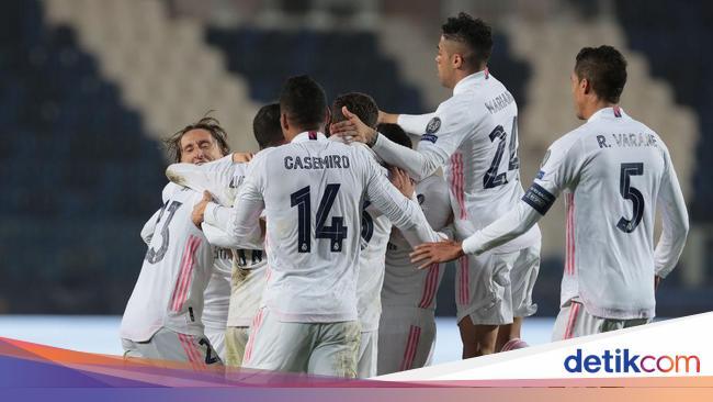 Top! Madrid Sudah 100 Laga di Fase Gugur Liga Cham