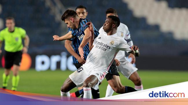 5 Lini Depan Madrid Tumpul Lawan Atalanta, Zidane