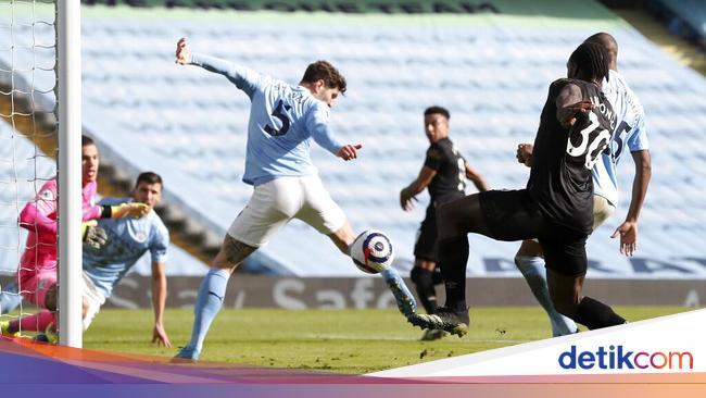 Babak I Man City Vs West Ham Selesai 1-1
