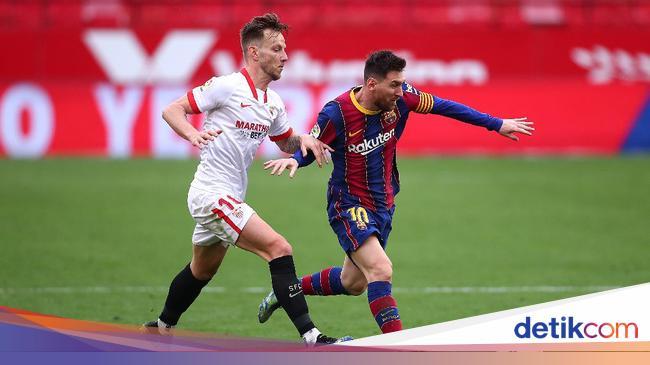 Sevilla Vs Barcelona: Dembele-Messi Menangkan Barc