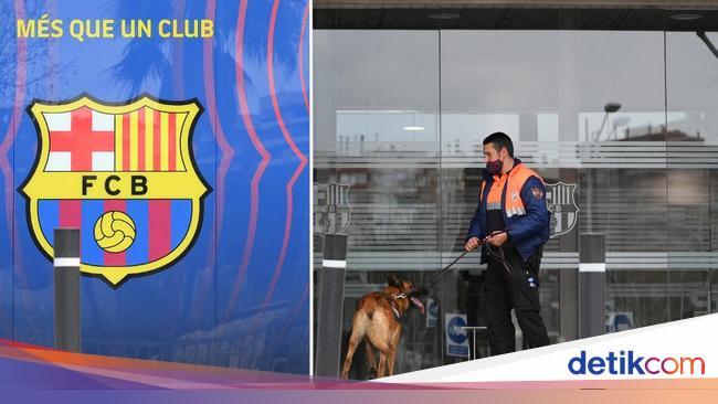 Foto: Penggeledahan Skandal Barcagate Barcelona, 4