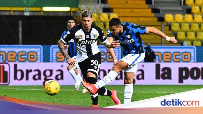 Parma Vs Inter: Dua Gol Alexis Sanchez Menangkan N