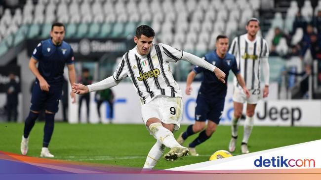 Video Juventus Atasi Lazio Tanpa Ronaldo, Menang 3