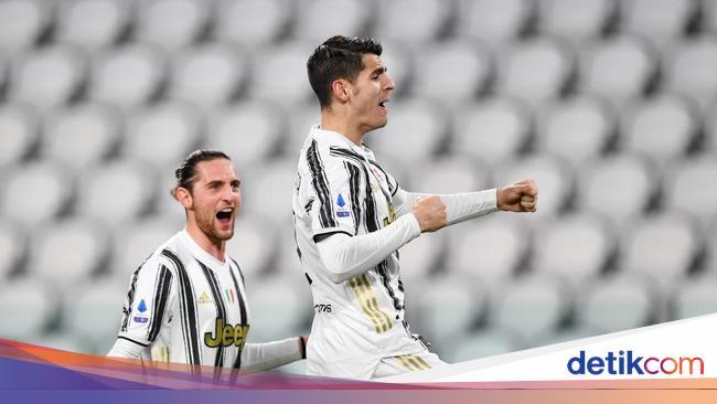 Juventus Vs Lazio: Morata Dua Gol, Si Nyonya Tua M