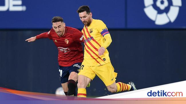 Osasuna Vs Barcelona: Aksi Assist-assist Manja Mes