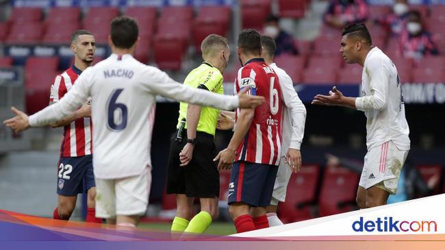 Kontroversi Handball Felipe di Atletico Vs Madrid,