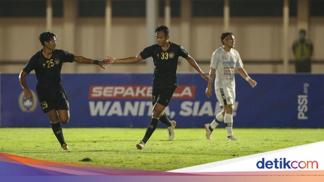 Timnas Indonesia Kalahkan Bali United, Shin Tae-yo