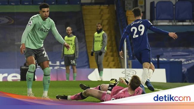 Chelsea Vs Everton: The Blues Unggul 1-0 di Babak Pertama