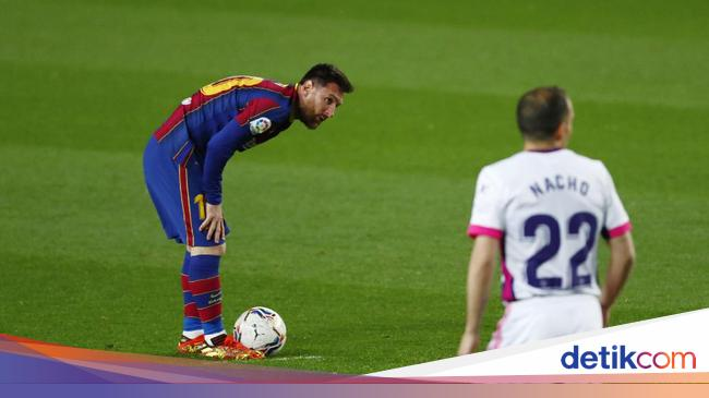 Lionel Messi Nyaris Dizalimi Wasit