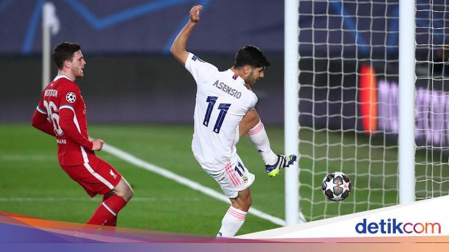 Babak I Real Madrid Vs Liverpool: Los Blancos Unggul 2-0