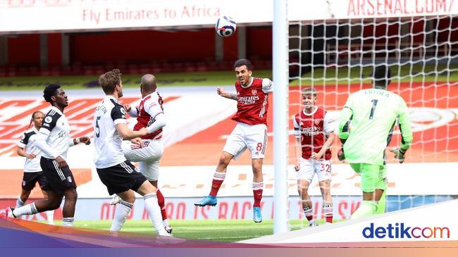 Ceballos' goal was canceled by VAR, Arsenal vs Fulam drew in Round I
