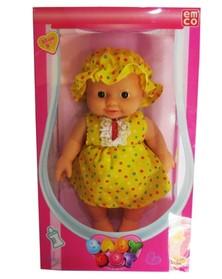 Emco Boneka Bayi Bermotif Titik Titik