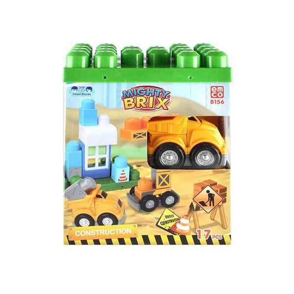 Kembangkan Imajinasi Dan Kreativitas Si Kecil Dengan Memberikannya Mainan Mighty Brix Dari Emco, Mainan Balok Susun Yang Keren Untuk Membuat Si Kecil Semakin Ceria.