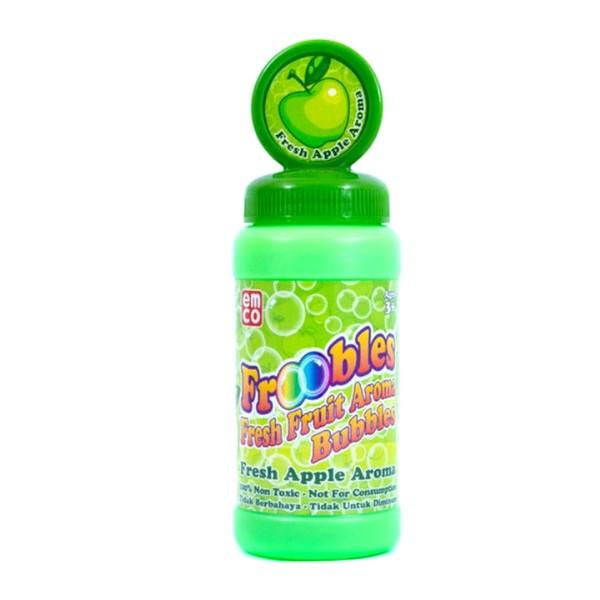 Product Details Of Emco Frooble Bubble Shot:    Mainan Bubble Persembahan Terbaik Dari Emco, Kamu Bisa Membuat Bubble / Gelembung Sabun Sesuai Dengan Yang Kamu Inginkan.    Froobles Bubbles Shot Ini Menggunakan Battrei Dengan Ukuran 1 X Aa Battrei.