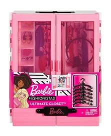 Seperangkat Lemari Berisi Perlengkapan Baju Sepatu Dan Pernak Pernik Barbie