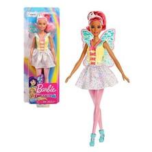 Boneka Peri Dari Barbie Dreamtopia Menginspirasi Imajinasi Muda Untuk Terbang Dengan Sayap Yang Mempesona Dan Busana Yang Penuh Warna Cocok Untuk Petualangan Dongeng!    Boneka Peri Barbie Ini Mengenakan Korset Dan Rok Berkilau Dengan Detail Berbintang Dan Ruffle. Sayap Transparan Dengan Sentuhan Warna Menginspirasi Cerita Dan Mimpi Dongeng, Dan Tiara Yang Serasi Bisa Dikenakan Di Ekor Kuda Ungu Untuk Melengkapi Tampilan.    Sangat Mudah Untuk Memainkan Mimpi Yang Nyata Dan Dibayangkan Dengan Barbie Karena Ketika Anda Memasuki Dreamtopia, Anda Bangun Ke Dunia Di Mana Mimpi Menjadi Kenyataan!