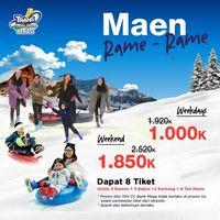 Promo Februari! Harga Jual Tiket Trans Snow World Juanda Bekasi Makin Terjangkau