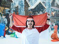 Snowfriends Peringati Hari Sumpah Pemuda di Dinginnya Salju Trans Snow World