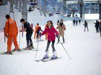 Keseruan Para Pemenang Giveaway Belajar Bermain Ski Secara Gratis di Trans Snow World