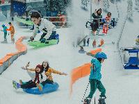 Rekomendasi Liburan untuk Keluarga, Mencoba Wahana Salju Trans Snow World Juanda Bekasi