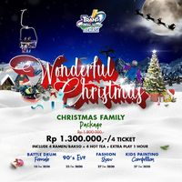Wonderful Christmas ! Nikmati Promo Seru Trans Snow World Bekasi