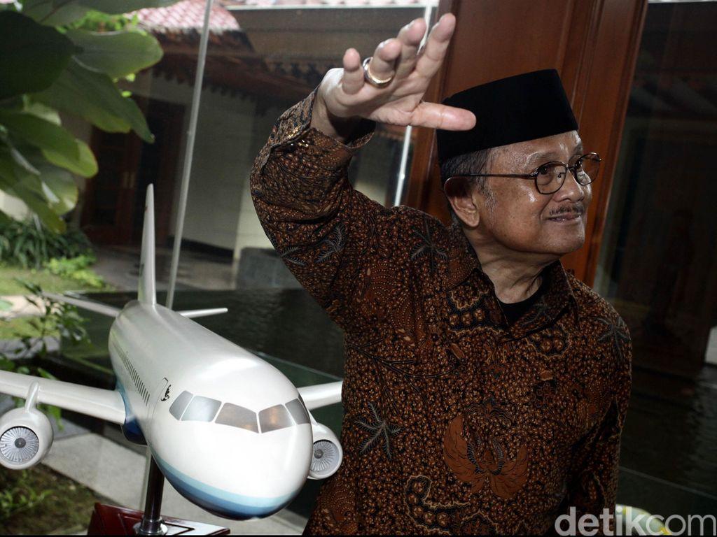Teori Habibie Jadi Kunci Pengembangan Pesawat Modern