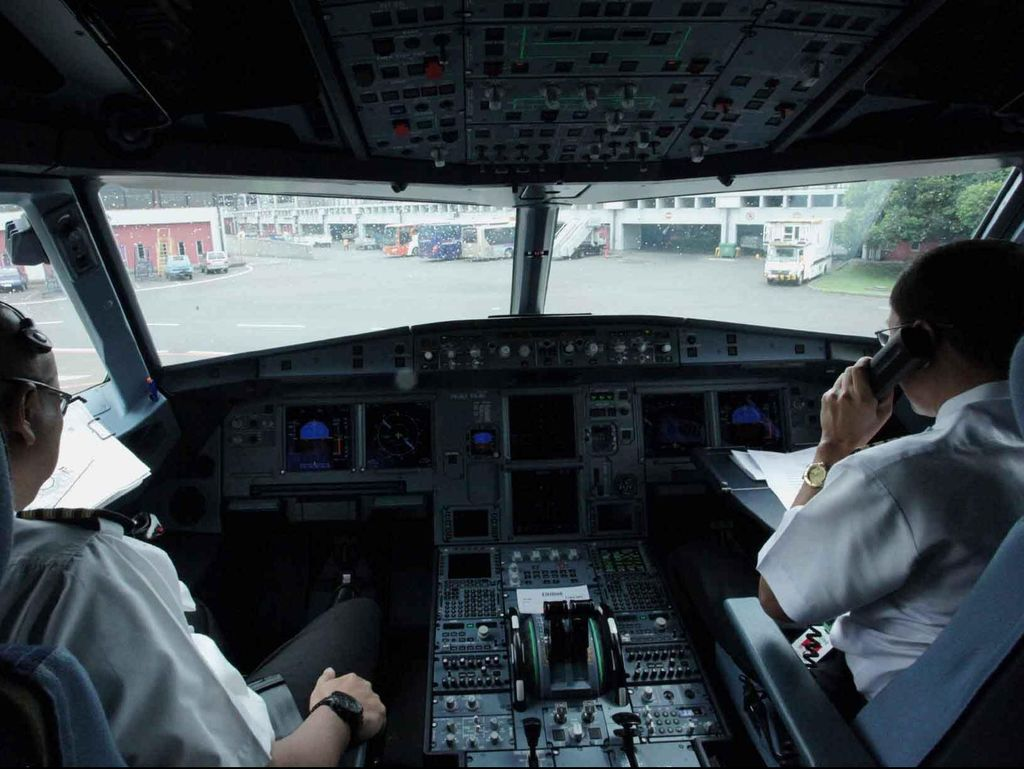 Pilot Citilink Tak Kendor Latihan Meski Jam Terbang Berkurang