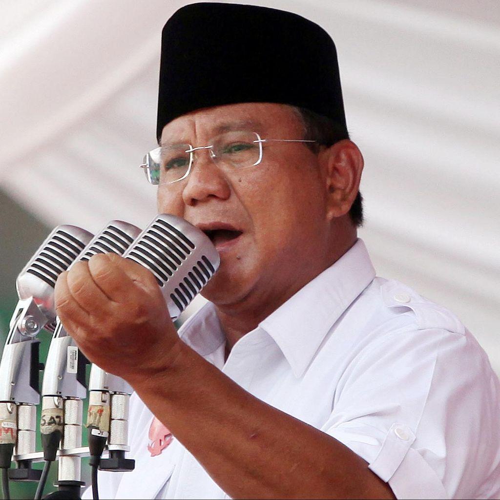 Prabowo Ajak Masyarakat Berdoa untuk Warga Aceh yang Jadi Korban Gempa