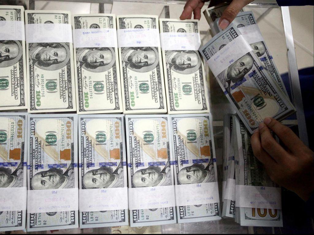 Dolar AS Lompat ke Rp 13.405