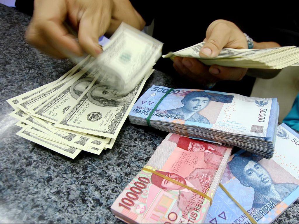 Rupiah Melempem, Dolar AS Naik ke Rp 14.103
