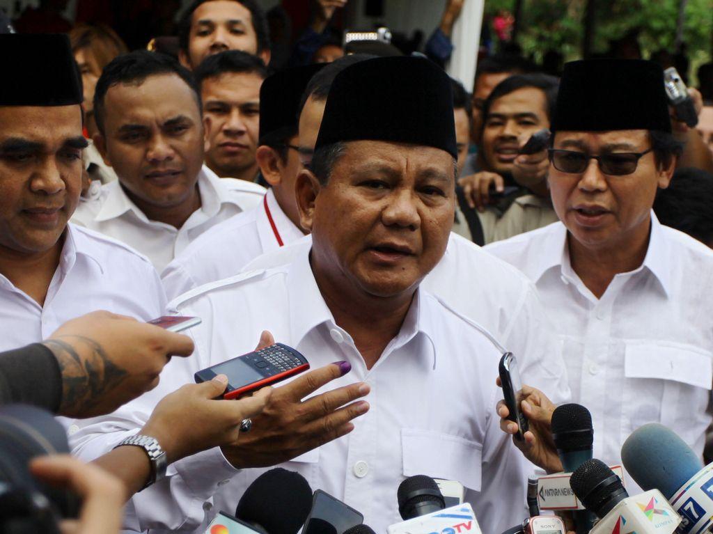 Kata Prabowo soal Persiapan Kampanye
