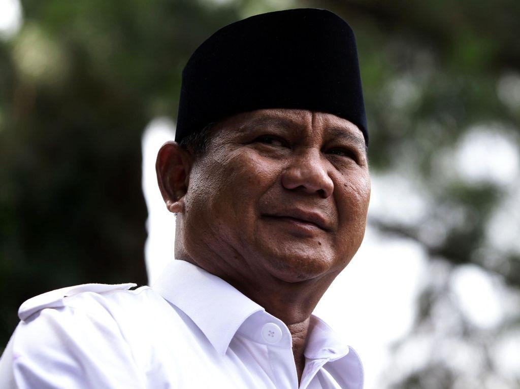 Jagokan Sudrajat, Prabowo Tepis Usung Cagub Tak Populer