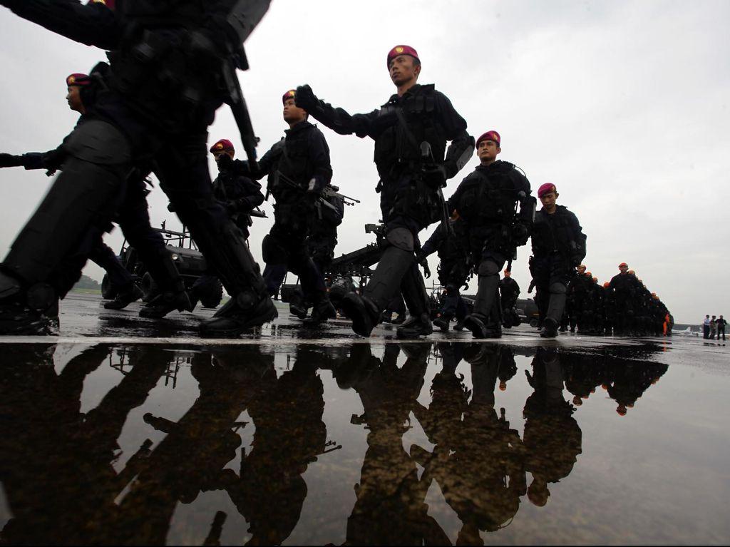 BNPT Sepakat TNI Dilibatkan Tangani Terorisme