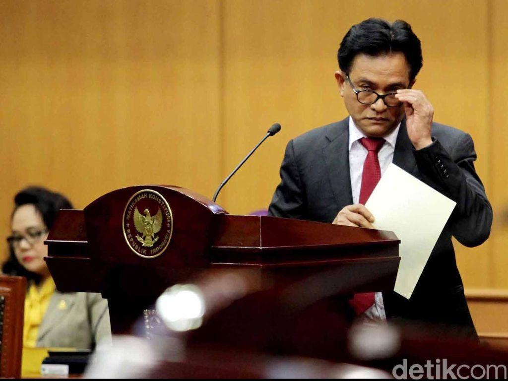 Yusril: Pandemi Corona Situasi Genting, Jokowi Dapat Terbitkan Perppu