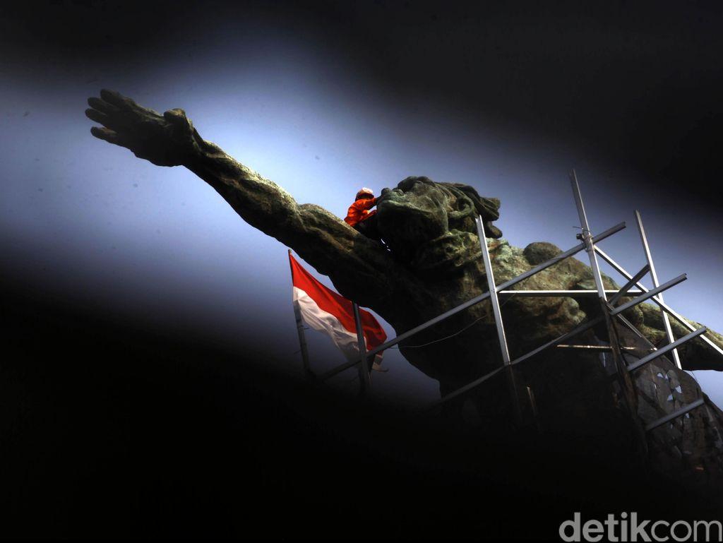 Patung Dirgantara Pancoran, Peninggalan Terakhir Sukarno