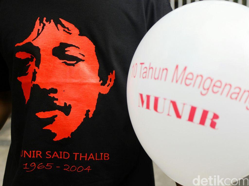 16 Tahun Wafat Munir, KontraS Tuntut Kasus Munir Dinyatakan HAM Berat