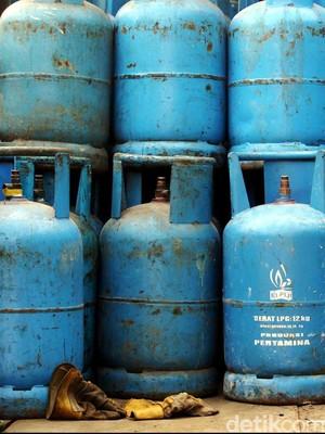 Tabung Gas 50 Kg Meledak di Pondok Gede Bekasi, 4 Orang Terluka