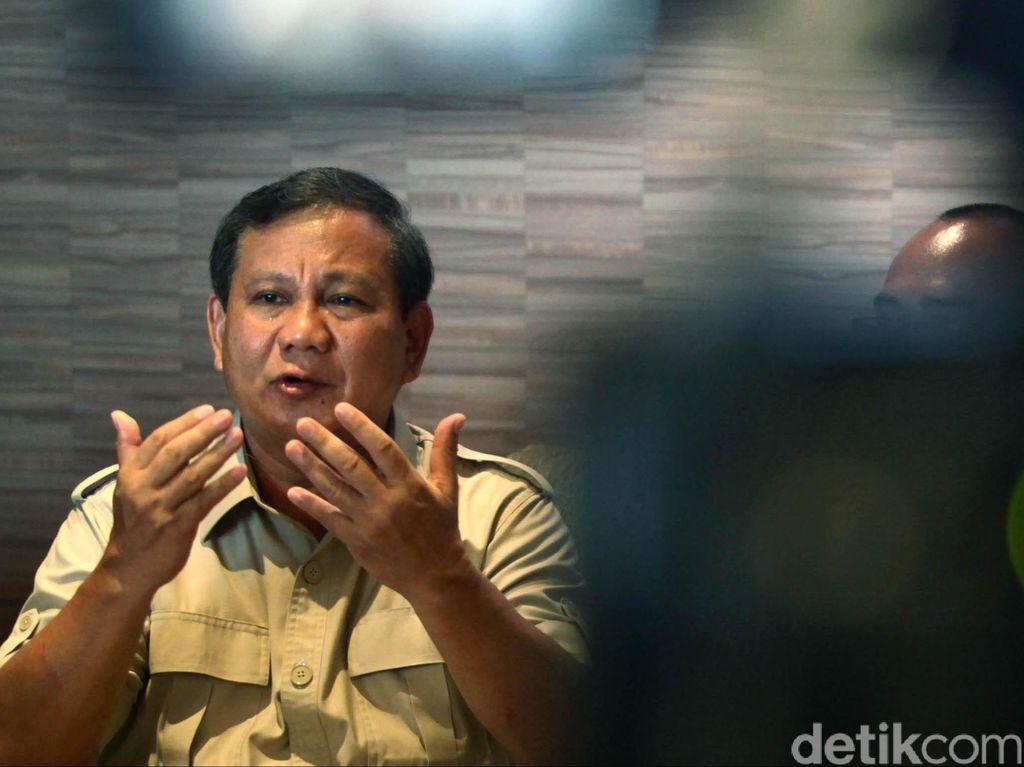 Elite PD: Prabowo akan Takziah ke Cikeas Hari Ini