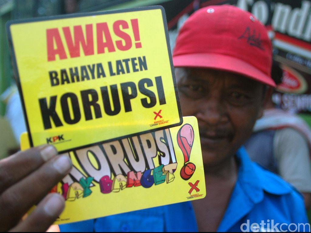 KPK: 49 PNS Korupsi di Tingkat Kementerian Belum Dipecat