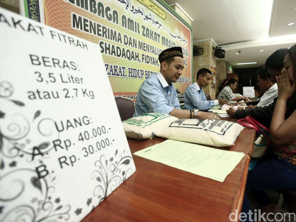 75% Dana Zakat Per Tahun Terkumpul Selama Ramadan dan Idul Fitri
