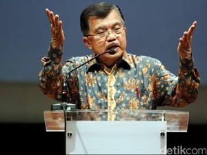 Wapres JK Mudik ke Makassar Sore Ini