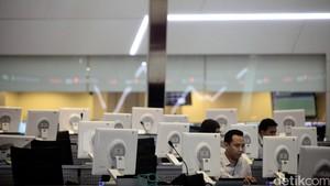 Perdagangan Lesu, IHSG Berakhir Negatif di 5.771