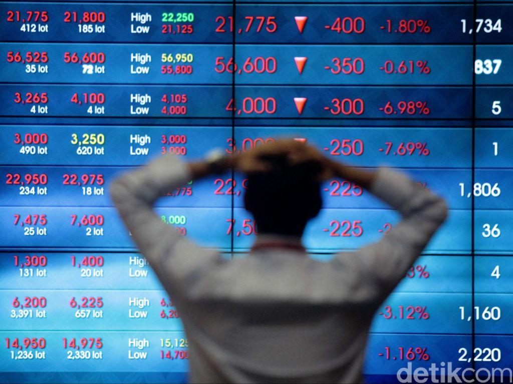 Mengekor Bursa Asia, IHSG Lengser ke 6.124