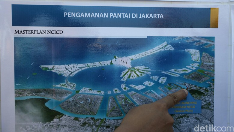 Ini Proyek Tanggul Raksasa Jakarta yang Dilanjutkan Jokowi