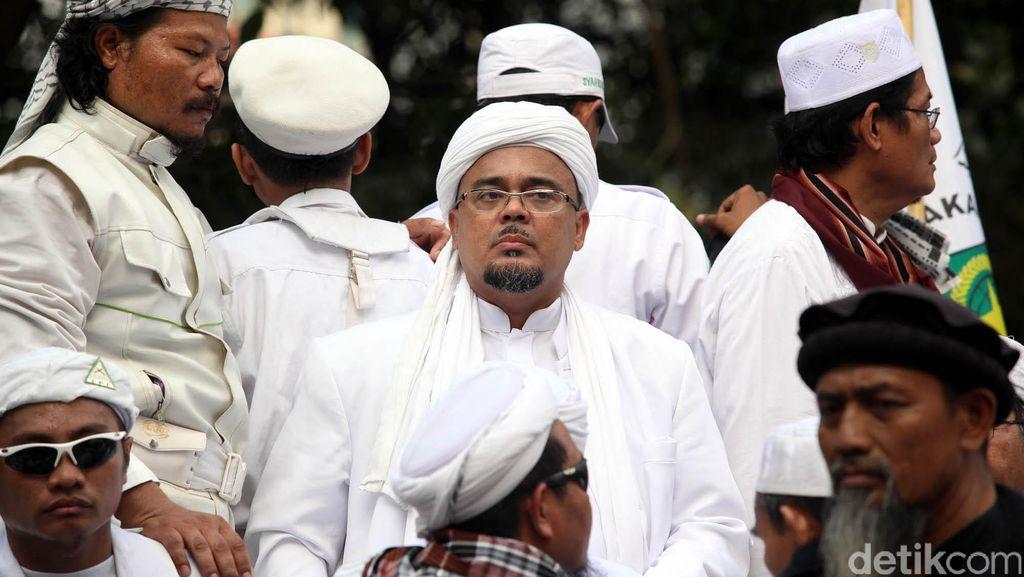 Kejati Jabar Terima Surat Penyidikan Habib Rizieq